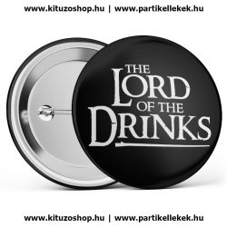 The Lord Of The Drinks fekete