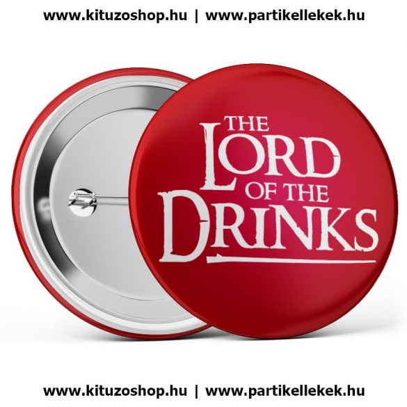 The Lord Of The Drinks piros