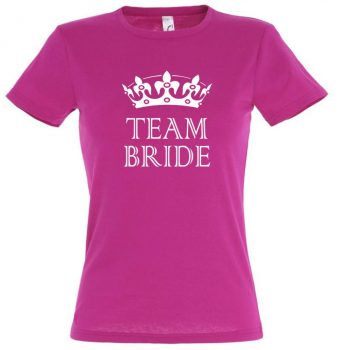 Team bride póló fuchsia
